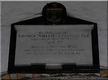 SD3598 : St Michael and All Angels, Hawkshead: memorial (xii) by Basher Eyre
