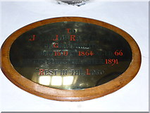 SD3598 : St Michael and All Angels, Hawkshead: memorial (xv) by Basher Eyre
