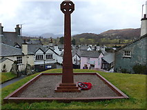 SD3598 : St Michael and All Angels, Hawkshead: churchyard (13) by Basher Eyre