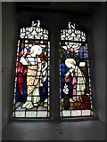 SD3598 : St Michael and All Angels, Hawkshead: stained glass window (II) by Basher Eyre
