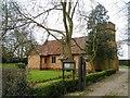 TF5906 : St Peter's church near to Stow Bridge by Bikeboy