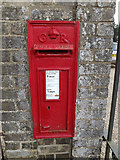 TM1473 : Church Gate George V Postbox by Adrian Cable