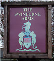 NZ0772 : Sign for the Swinburne Arms, Stamfordham by JThomas