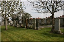 NS3421 : Ayr Cemetery by Richard Sutcliffe
