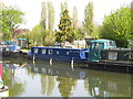 TQ1783 : Lady Aridith - narrowboat on Paddington Arm, Grand Union Canal by David Hawgood