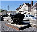 SN6115 : Former coal truck in Llandybie High Street by Jaggery