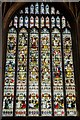 SO5139 : South transept Stained glass window, Hereford Cathedral by Julian P Guffogg