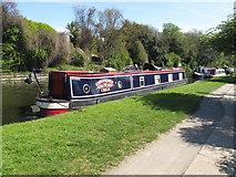 TQ2282 : Emmandbee of Crick - narrowboat on Paddington Arm, Grand Union Canal by David Hawgood