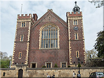 TQ3081 : The Great Hall, Lincolns Inn Fields, London WC1 by Christine Matthews