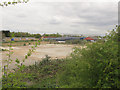 TQ4579 : Former factory site off Nathan Way by Stephen Craven