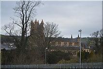 SO1091 : Parish Church of St David by N Chadwick