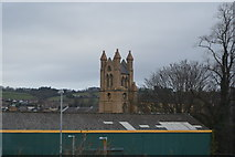 SO1091 : Tower, Parish Church of St David by N Chadwick