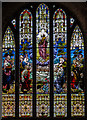 SO5140 : East window, St Peter's church, Hereford by Julian P Guffogg