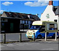 SO5012 : Ice cream van at the edge of Blestium Street, Monmouth by Jaggery