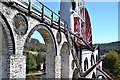 SC4385 : Laxey Wheel from the north by Jim Barton