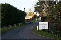 SX9364 : Entrance to Stoodley Knowle School, Torquay by Ian S
