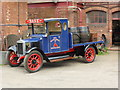 SK2625 : Claymills Victorian Pumping Station - Morris dray wagon by Chris Allen