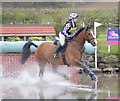 SJ5567 : Kelsall Hill Horse Trials: water complex by Jonathan Hutchins