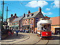 NZ2155 : Tram at Beamish Museum by Malc McDonald
