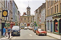 S7127 : New Ross: South Street to Tholsel, 1993 by Ben Brooksbank