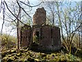NS3178 : Ruins of Ardmore Observatory by Lairich Rig