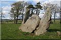 NJ6028 : Stonehead Recumbent Stone Circle (2) by Anne Burgess