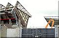 J3272 : The West Stand, Windsor Park, Belfast - April 2015(2) by Albert Bridge