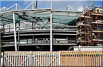 J3272 : New stands, Windsor Park, Belfast - April 2015(4) by Albert Bridge