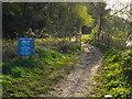 NY3856 : Hadrian's Wall Path and Cycleway, Carlisle by Malc McDonald