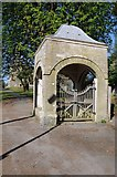 SO2956 : Lychgate, Kington church by Philip Halling
