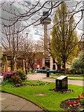 SJ3490 : St John's Gardens and Beacon by David Dixon