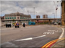 SJ3490 : Liverpool City Centre, A57 Elevated Section, Churchill Way by David Dixon