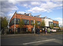 TQ1185 : South Ruislip Library on Victoria Road by David Howard