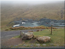 NY2213 : Honister Slate Mine by Malc McDonald