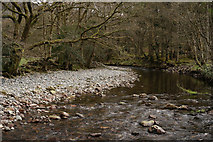 NY1700 : River Esk, Beckfoot by Peter Trimming