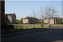 NS5564 : Rhynie Drive & Hinshelwood Drive, Ibrox by Richard Sutcliffe