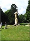SK0573 : Sculpture, Pavilion Gardens, Buxton by Eirian Evans