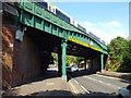 SP2965 : Emscote Road railway bridge, Warwick by Robin Stott