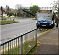 ST3091 : Boarding a Stagecoach bus in Malpas Road, Newport by Jaggery