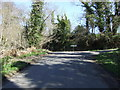 NU2004 : Minor road junction near Guyzance  by JThomas