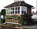 SH5271 : A well decorated signal box! by Alan Roberts