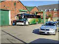 SD5322 : Bus Washer at Fishwick's Garage by David Dixon