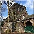 SJ8645 : Stoke (Hartshill) Cemetery chapel by Jonathan Hutchins