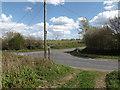 TM3272 : Heveningham Long Lane, Heveningham by Adrian Cable