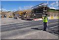 SD4764 : Lancaster Road Bridge construction (A6) by Ian Taylor