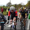SE2144 : Sir Bradley Wiggins tops the Cote de Chevin by Rich Tea
