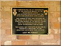 SP2054 : Plaque in Stratford-Upon-Avon Remembrance Garden by David Dixon