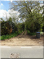 TM3372 : Footpath to Dunwich & Heveningham Long Lanes by Geographer