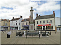 TF8109 : Swaffham War Memorial by Adrian S Pye