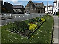 SH7877 : Vegetable beds as street decorations by Richard Hoare
